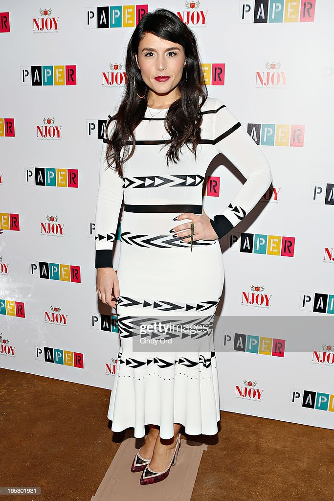 Singer Jessie Ware attends Paper Magazine's 16th Annual Beautiful People Party at Top of The Standard Hotel on April 2, 2013 in New York City.