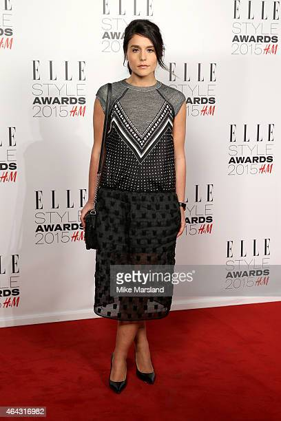 Singer Jessie Ware attends the Elle Style Awards 2015 at Sky Garden @ The Walkie Talkie Tower on February 24 2015 in London England