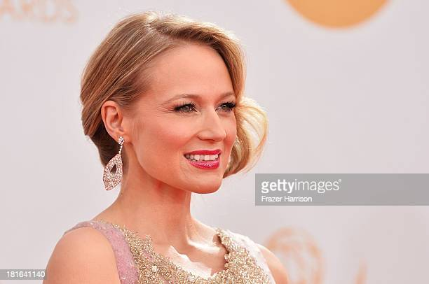 Singer Jewel arrives at the 65th Annual Primetime Emmy Awards held at Nokia Theatre LA Live on September 22 2013 in Los Angeles California