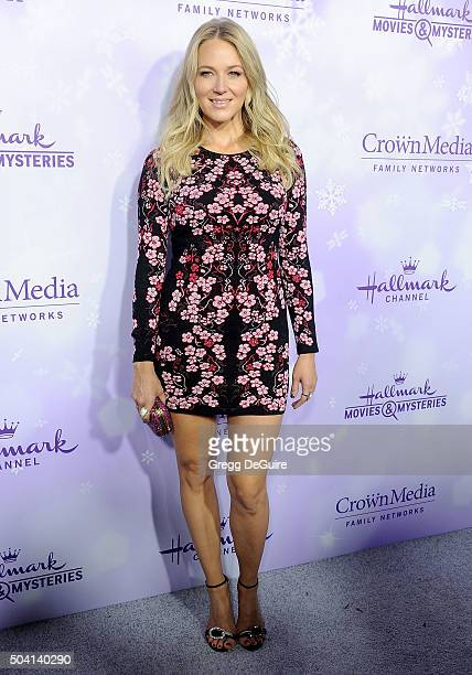 Singer Jewel arrives at the Hallmark Channel and Hallmark Movies and Mysteries Winter 2016 TCA Press Tour at Tournament House on January 8 2016 in...