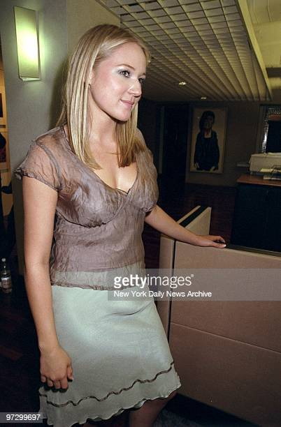 Singer Jewel at party at Rolling Stone magazine promoting her book of poems 'A Night Without Amor' Jewel's album 'Pieces of You' sold more than eight...