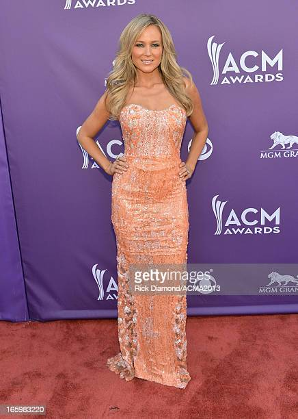 Singer Jewel attends the 48th Annual Academy of Country Music Awards at the MGM Grand Garden Arena on April 7 2013 in Las Vegas Nevada