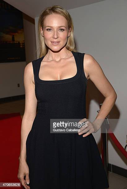 Singer Jewel attends the The Miami Premiere Of 'Little Boy' at Regal South Beach on April 21 2015 in Miami Florida