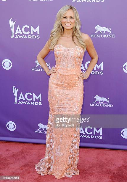 Singer Jewel Kilcher arrives at the 48th Annual Academy Of Country Music Awards at MGM Grand Garden Arena on April 7 2013 in Las Vegas Nevada