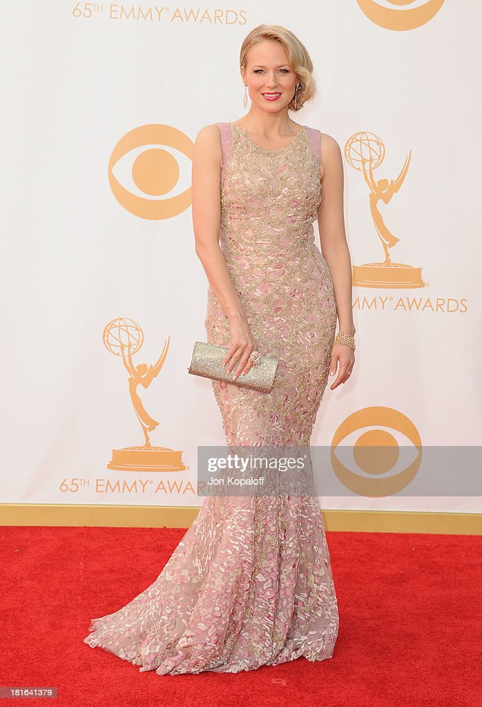 Singer Jewel Kilcher arrives at the 65th Annual Primetime Emmy Awards at Nokia Theatre LA Live on September 22 2013 in Los Angeles California