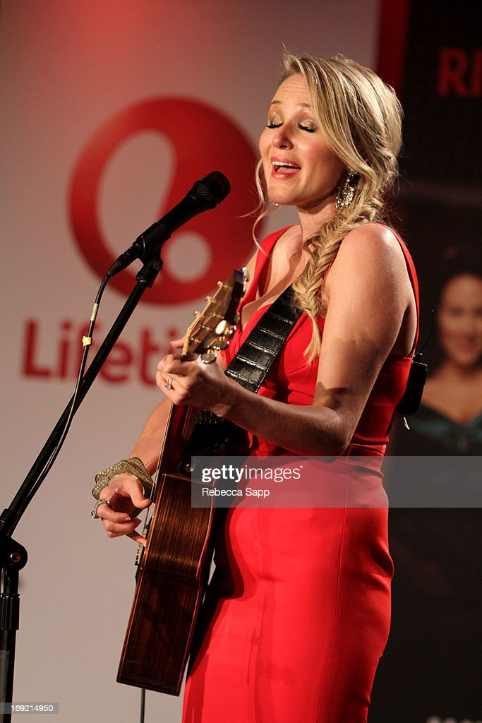 Ring of Fire with Jewel at The GRAMMY Museum on May 21, 2013 in Los Angeles, California.