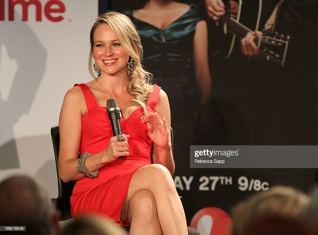 Singer Jewel speaks onstage at Reel to Reel: Ring of Fire with Jewel at The GRAMMY Museum on May 21, 2013 in Los Angeles, California.