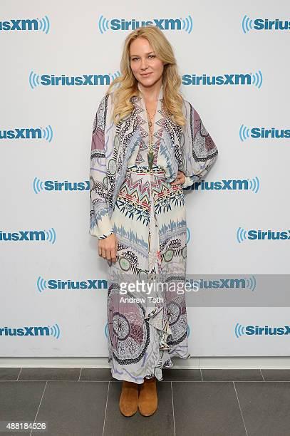 Singer Jewel visits SiriusXM Studios on September 14 2015 in New York City