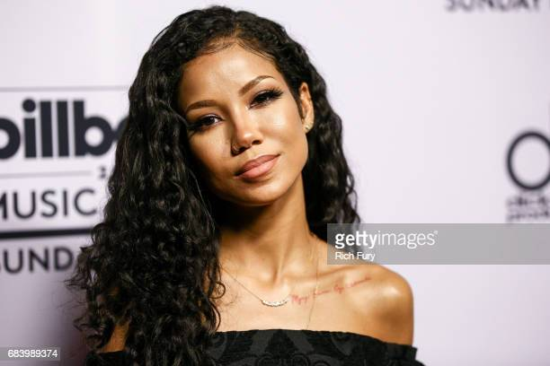 Singer Jhene Aiko attends the '2017 Billboard Music Awards' and ELLE Present Women In Music at YouTube Space LA at YouTube Space LA on May 16 2017 in...