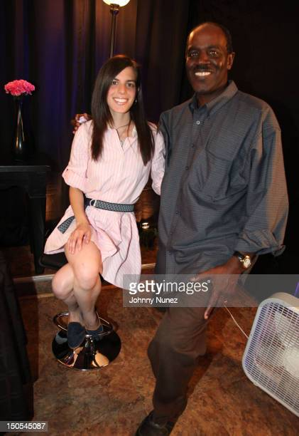 Singer Jill Criscuolo and radio personality Fred Mills visit 'The Jeff Foxx Radio Show' on August 20 2012 in West Orange New Jersey
