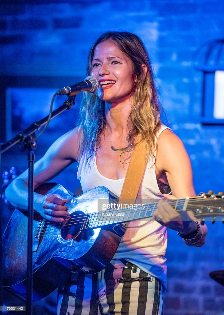 Singer Jill Hennessy performs onstage at Carroll Place on June 10 2015 in New York City