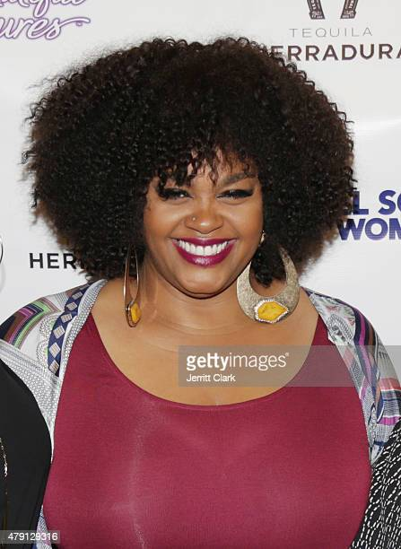 Singer Jill Scott attends her WOMAN Album Preview Live Performance at MIST Harlem on June 30 2015 in New York City