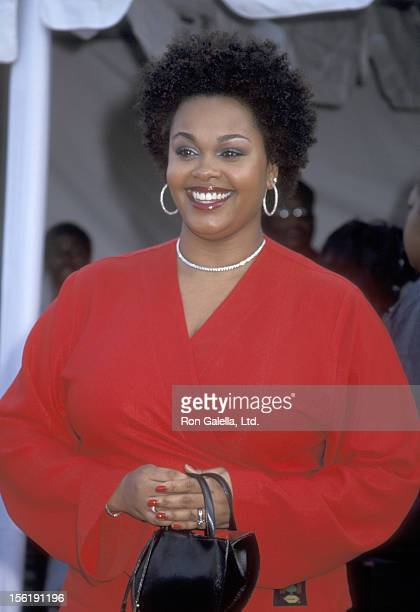 Singer Jill Scott attends Seventh Annual Soul Train Lady of Soul Awards on August 28 2001 at the Santa Monica Civic Auditorium in Santa Monica...