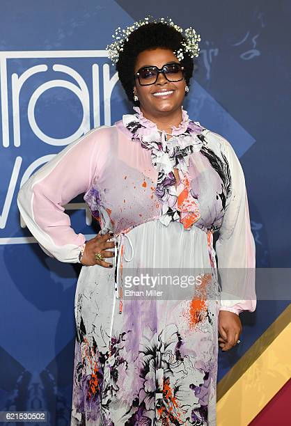 Singer Jill Scott attends the 2016 Soul Train Music Awards at the Orleans Arena on November 6 2016 in Las Vegas Nevada
