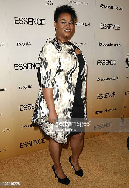 Singer Jill Scott attends the 4th Annual Essence Black Women In Hollywood luncheon at Beverly Hills Hotel on February 24 2011 in Beverly Hills...