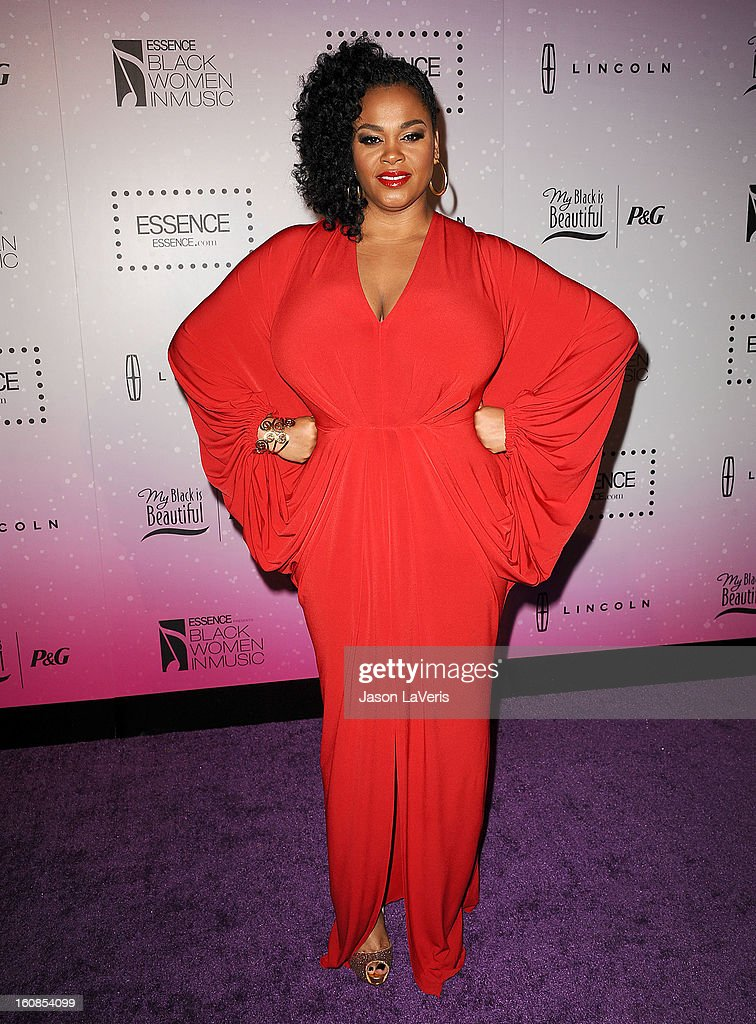 Singer Jill Scott attends the 4th annual ESSENCE Black Women In Music event at Greystone Manor Supperclub on February 6, 2013 in West Hollywood, California.