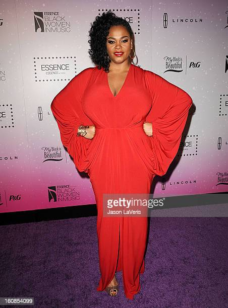Singer Jill Scott attends the 4th annual ESSENCE Black Women In Music event at Greystone Manor Supperclub on February 6 2013 in West Hollywood...