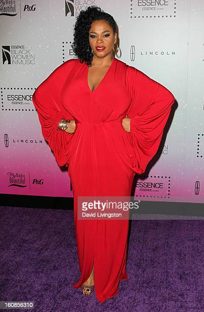 Singer Jill Scott attends the 4th Annual ESSENCE Black Women In Music honoring Lianne La Havas and Solange Knowles at Greystone Manor Supperclub on...