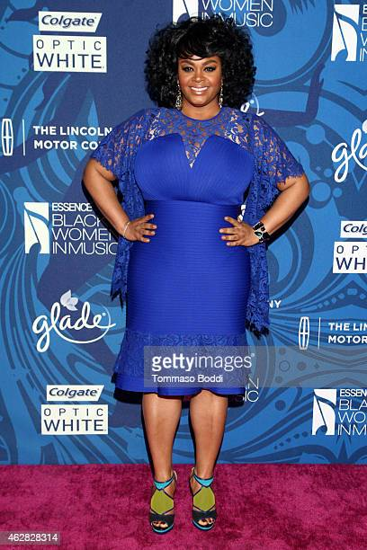Singer Jill Scott attends the Essence 6th annual Black Women in Music Event held at Avalon on February 5 2015 in Hollywood California