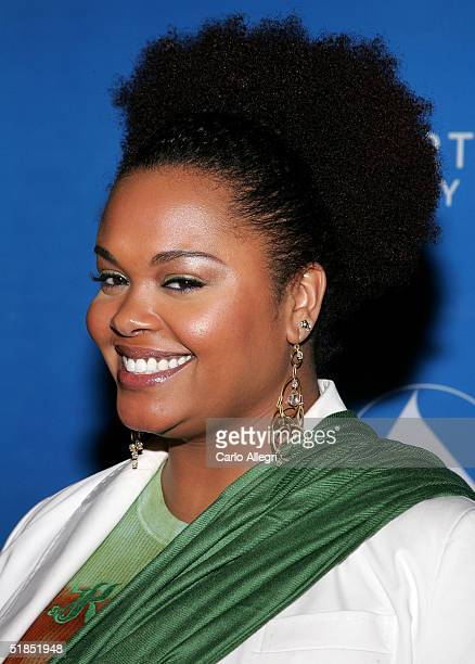 Singer Jill Scott attends the inaugural Grammy Jam Fest at the Wiltern Theatre December 11 2004 in Los Angeles California The event celebrated the...