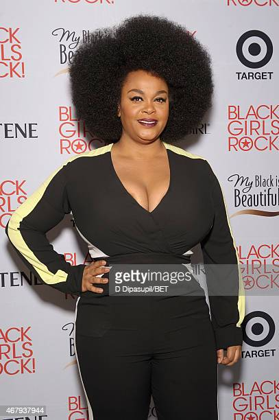 Singer Jill Scott attends the Style Stage sponsored by PG and Target at 'Black Girls Rock' at NJPAC – Prudential Hall on March 28 2015 in Newark New...