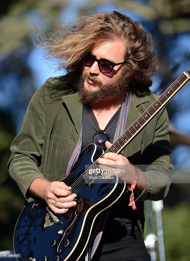 Singer Jim James of the bands My Morning Jacket and Monsters of Folk performs live onstage at Golden Gate Park on September 30, 2016 in San Francisco, California.