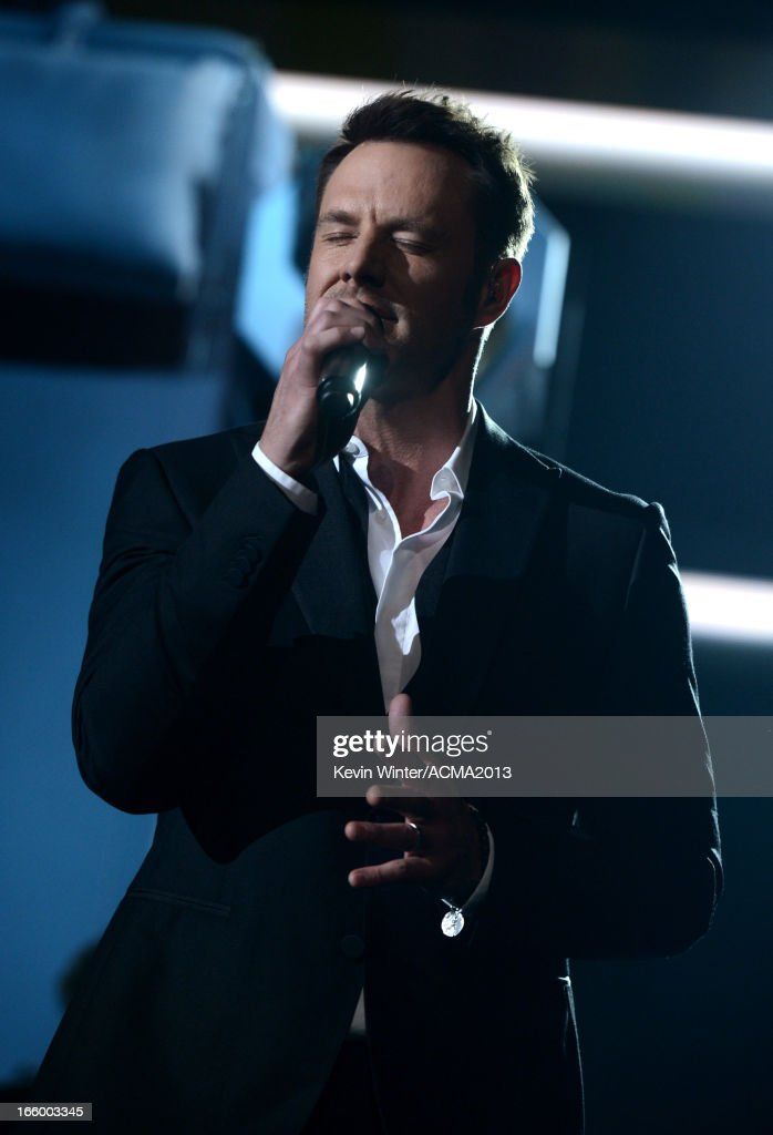 Singer Jimi Westbrook of the music group Little Big Town performs onstage during the 48th Annual Academy of Country Music Awards at the MGM Grand Garden Arena on April 7, 2013 in Las Vegas, Nevada.