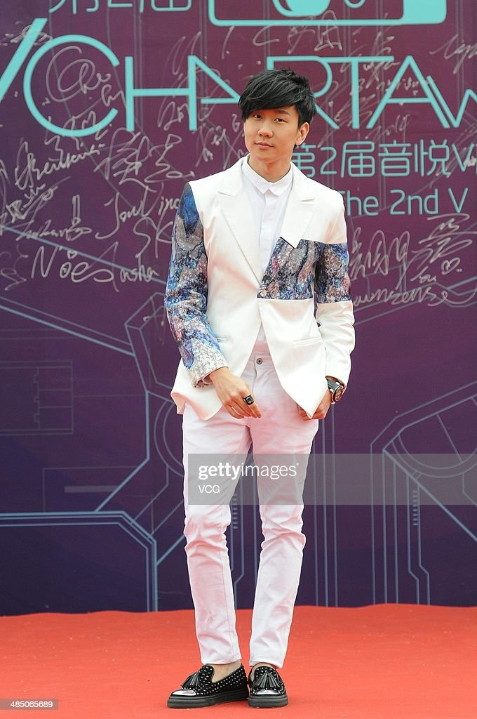 Singer <a gi-track='captionPersonalityLinkClicked' href=/galleries/search?phrase=JJ+Lin&family=editorial&specificpeople=3868242 ng-click='$event.stopPropagation()'>JJ Lin</a> attends the 2014 Vchart Music Awards on April 15, 2014 in Beijing, China.