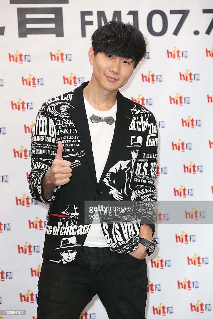 Singer <a gi-track='captionPersonalityLinkClicked' href=/galleries/search?phrase=JJ+Lin&family=editorial&specificpeople=3868242 ng-click='$event.stopPropagation()'>JJ Lin</a> promotes his new album on December 29, 2014 in Taipei, Taiwan of China.