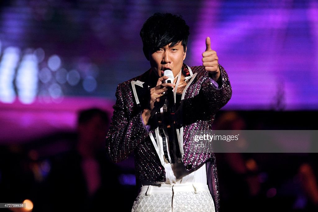 Singer <a gi-track='captionPersonalityLinkClicked' href=/galleries/search?phrase=JJ+Lin&family=editorial&specificpeople=3868242 ng-click='$event.stopPropagation()'>JJ Lin</a> sings on the stage during his personal concert at MasterCard Center on May 9, 2015 in Beijing, China.