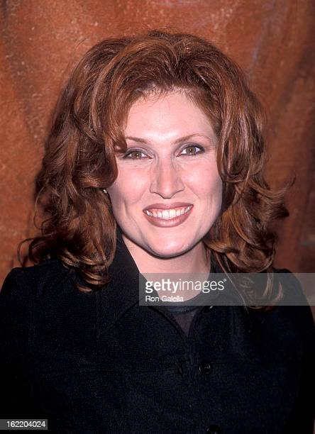 Singer Jo Dee Messina attends the 33rd Annual Academy of Country Music Awards Artists Reception on April 21 1998 at Country Star Restaurant Universal...