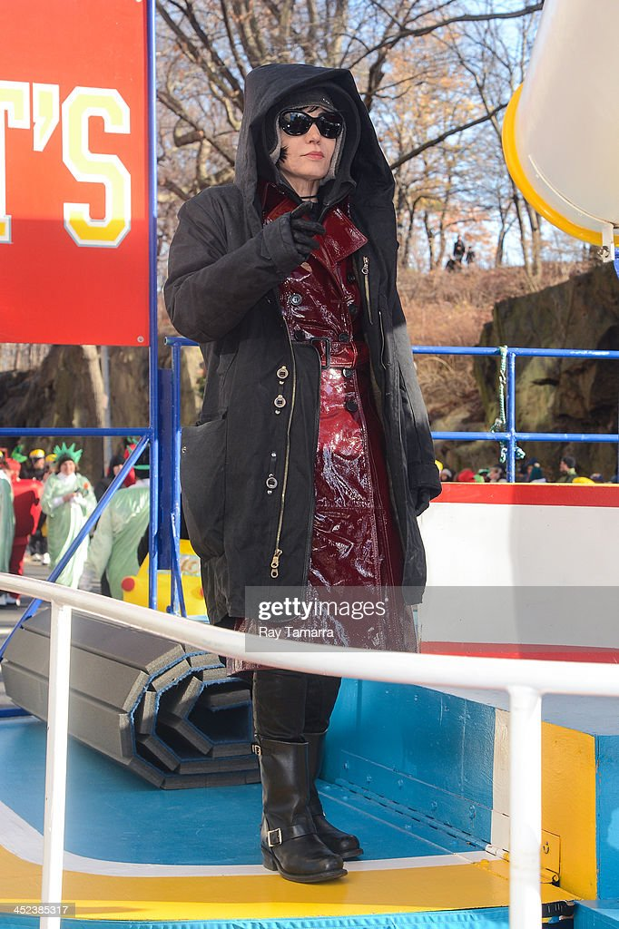 Singer Joan Jett attends the 87th Annual Macy's Thanksgiving Day Parade on November 28, 2013 in New York City.