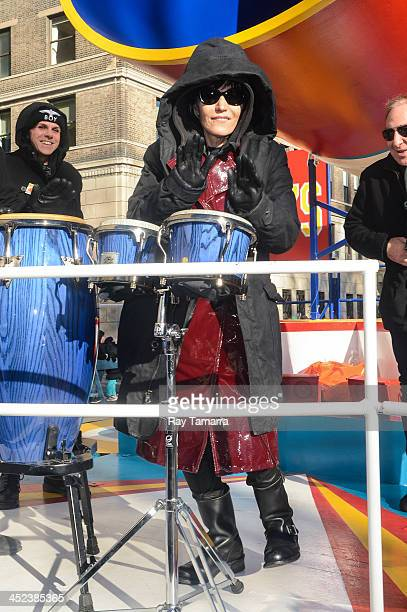Singer Joan Jett attends the 87th Annual Macy's Thanksgiving Day Parade on November 28 2013 in New York City