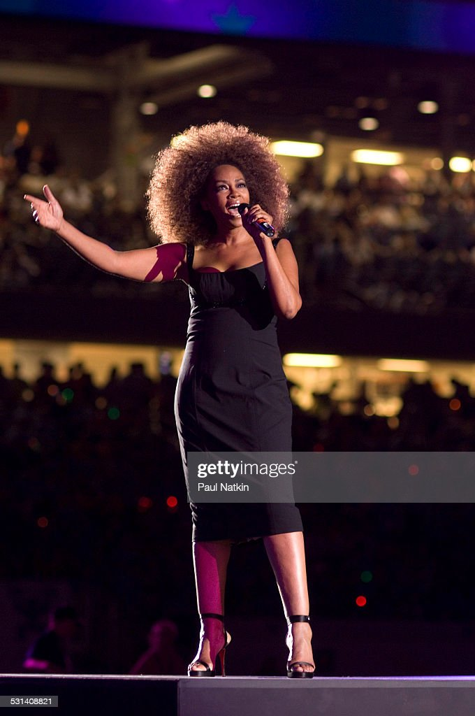 Singer Jody Watley performs at the opening of the Seventh Gay Games at Soldier Field Chicago Illinois July 15 2006