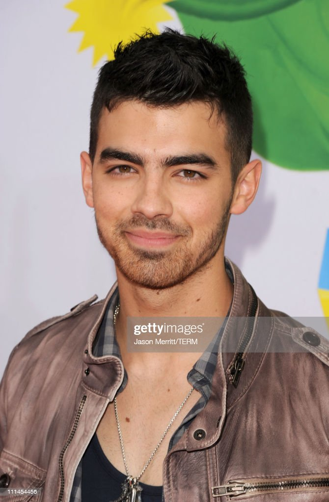 Singer Joe Jonas arrives at Nickelodeon's 24th Annual Kids' Choice Awards at Galen Center on April 2, 2011 in Los Angeles, California.