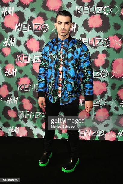 Singer Joe Jonas attends KENZO x HM Arrivals at Pier 36 on October 19 2016 in New York City