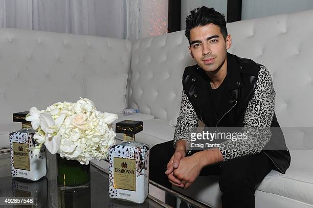 Singer Joe Jonas attends the Disaronno Wears Cavalli global launch event on October 15 2015 at Milk Studios in New York City