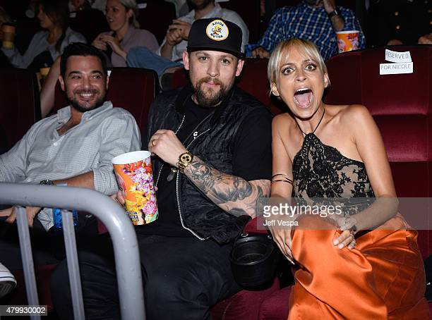 Singer Joel Madden and Nicole Richie attend VH1's 'Candidly Nicole' Season 2 Premiere Event at House of Harlow at The Grove on July 7 2015 in Los...