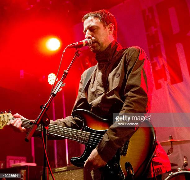 Singer Joel Stoker of the British band The Rifles performs live during a concert at the Lido on May 18 2014 in Berlin Germany