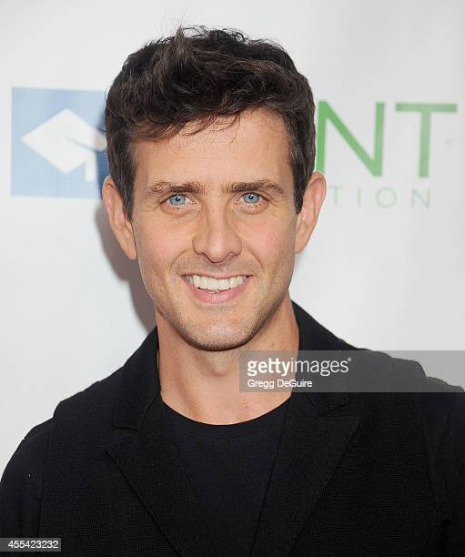 Singer Joey McIntyre arrives at Point Foundation's Annual 'Voices On Point' Fundraising Gala at the Hyatt Regency Century Plaza on September 13 2014...