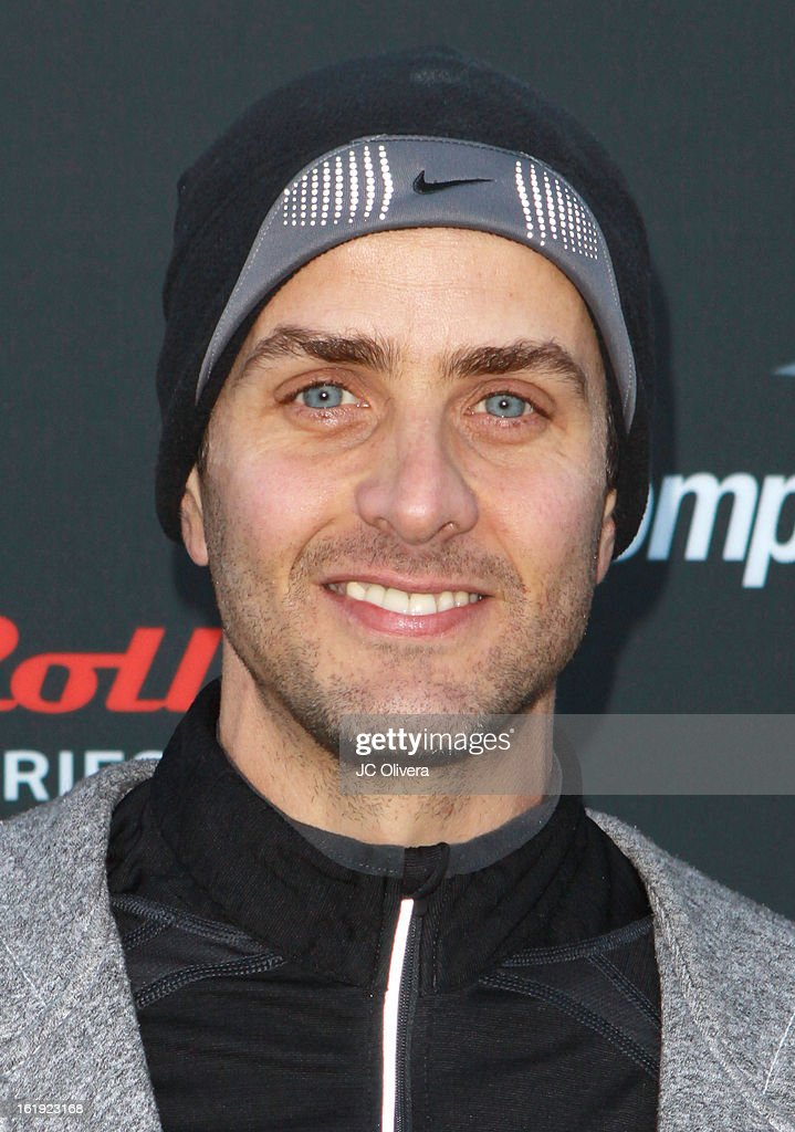Singer <a gi-track='captionPersonalityLinkClicked' href=/galleries/search?phrase=Joey+McIntyre&family=editorial&specificpeople=650190 ng-click='$event.stopPropagation()'>Joey McIntyre</a> attends the Kaiser Permanente Rock 'N' Roll Pasadena half marathon benefiting CureMito! at Rose Bowl on February 17, 2013 in Pasadena, California.