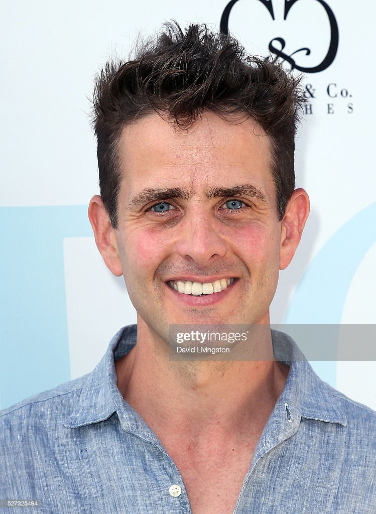 Singer Joey McIntyre attends the Ninth Annual George Lopez Celebrity Golf Classic at Lakeside Golf Club on May 2, 2016 in Burbank, California.