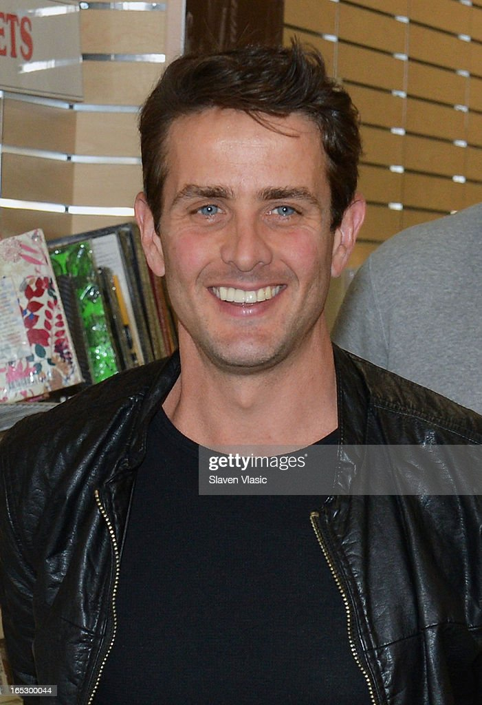 Singer Joey McIntyre of New Kids on the Block attends the New Kids on the Block fan meet and greet at J&R Music World on April 2, 2013 in New York City.