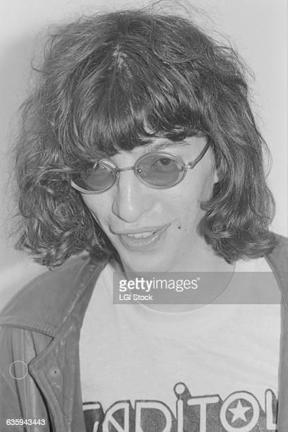 Singer Joey Ramone of The Ramones