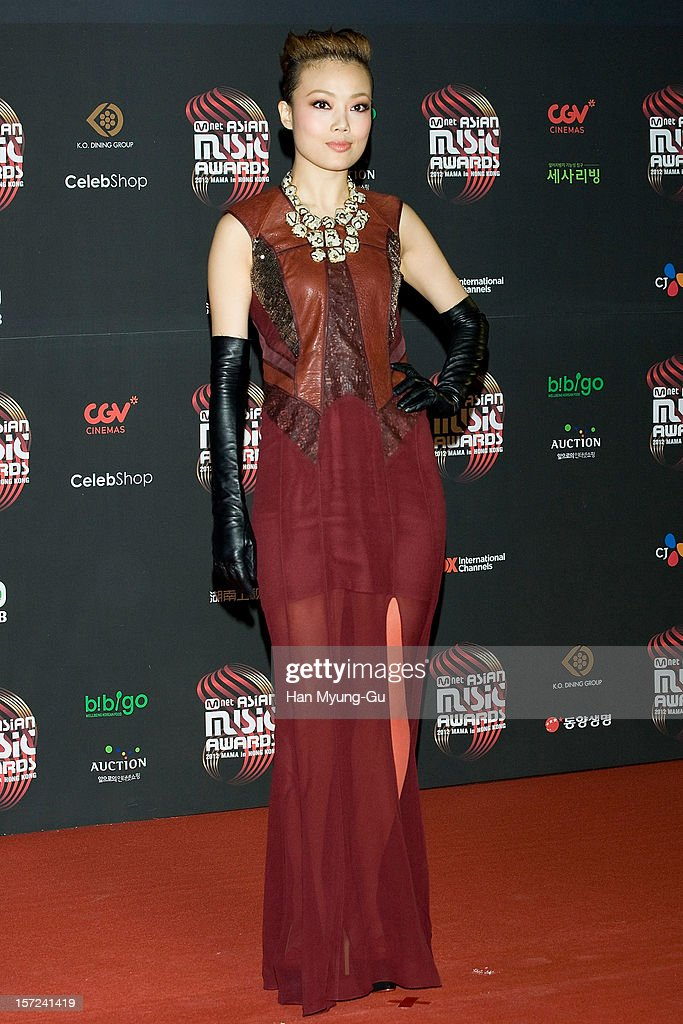Singer Joey Yung attends the 2012 Mnet Asian Music Awards Red Carpet on November 30 2012 in Hong Kong Hong Kong