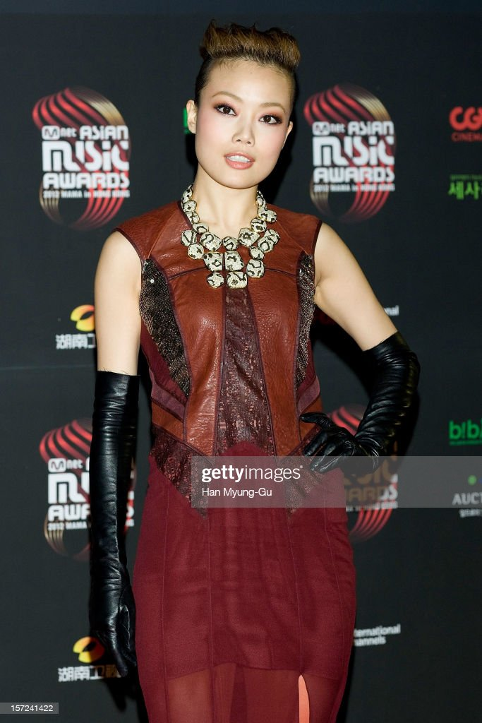 Singer Joey Yung attends the 2012 Mnet Asian Music Awards Red Carpet on November 30, 2012 in Hong Kong, Hong Kong.