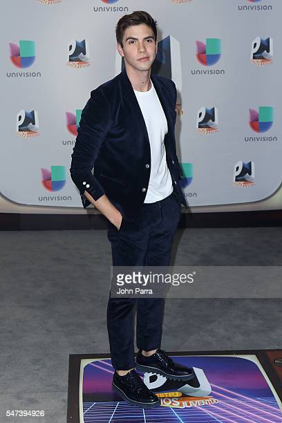 Singer Johann Vera attends the Univision's 13th Edition Of Premios Juventud Youth Awards at Bank United Center on July 14 2016 in Miami Florida
