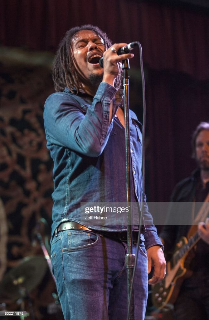Singer John Hogg of The Magpie Salute performs at Neighborhood Theatre on August 15, 2017 in Charlotte, North Carolina.