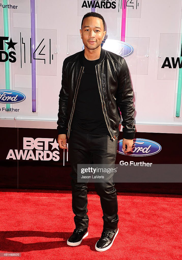 Singer John Legend attends the 2014 BET Awards at Nokia Plaza L.A. LIVE on June 29, 2014 in Los Angeles, California.