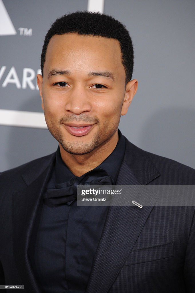 Singer John Legend attends the 55th Annual GRAMMY Awards at STAPLES Center on February 10, 2013 in Los Angeles, California.